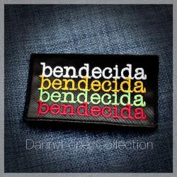 Bendecida  Iron On Patches | embroidered/bordado