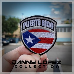 Puerto Rico Batch Iron On Patches | embroidered/bordado