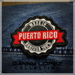 Made in Puerto Rico Iron On Patches | embroidered/bordado