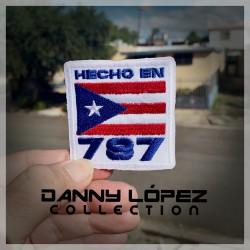 Hecho En PR 787 Iron On Patches | embroidered/bordado