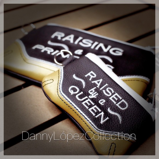 Raising a Princess/Raised by a Queen Matched  CLUTCH WALLET