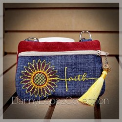 SUNFLOWER FAITH Ó FE CLUTCH WALLET
