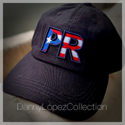 3d PR Flag Dad Hat V1